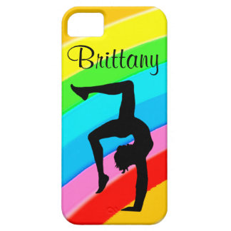 PERSONALIZED COLORFUL GYMNASTICS IPHONE CASE