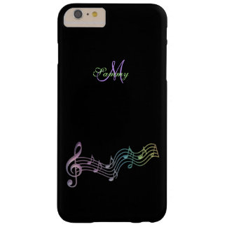 Personalized Colorful Music Notes iPhone Case