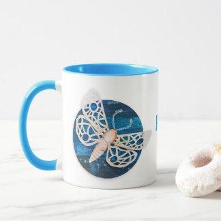 Personalized Combo Mug with Night Moths