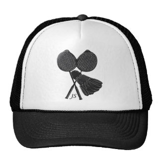 Personalized Cool Gift for Badminton Players Cap
