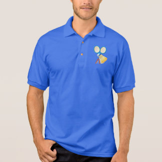 Personalized Cool Gift for Badminton Players Polo Shirt