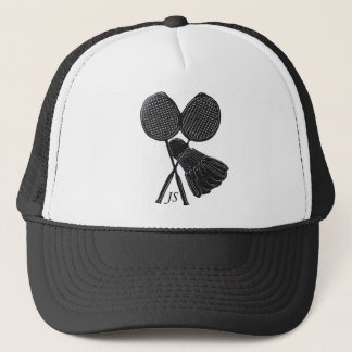 Personalized Cool Gift for Badminton Players Trucker Hat