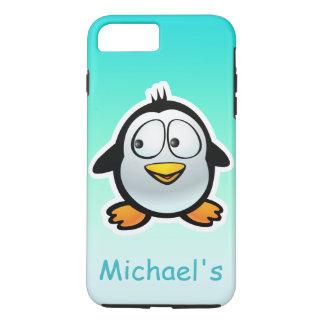Personalized Cool Penguin Cartoon iPhone 7 Plus Case