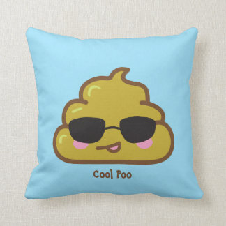 Personalized Cool Poo Throw Cushions