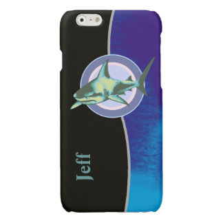 personalized cool shark iPhone 6 plus case