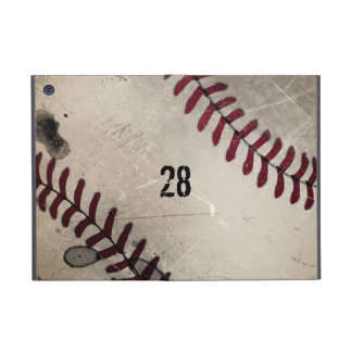 Personalized Cool Vintage Grunge Baseball Cover For iPad Mini