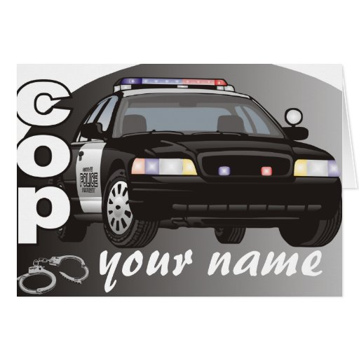 Personalized Cop Cards