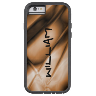 Personalized Copper Colored iPhone Tough Case Tough Xtreme iPhone 6 Case