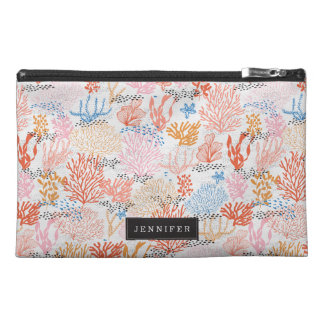 Personalized | Coral Reef Travel Accessory Bags