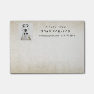 Personalized Corporate Ivory Pastel IT Boss Post-it® Notes