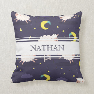 Personalized Counting Sheep Pillow