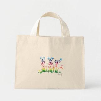 Personalized Creative Doggies Portrait Design Mini Tote Bag