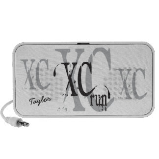 Personalized Cross Country Running XC Notebook Speaker