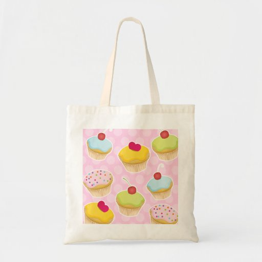 Personalized Cupcakes Tote Bag