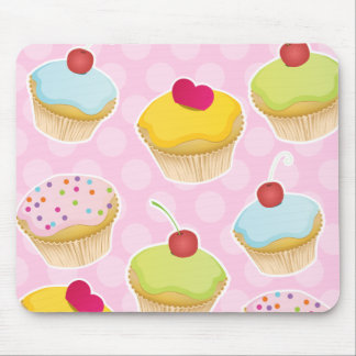 Personalized Cupcakes Mouse Mat