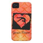 Personalized Custom Dance Gymnastics iPhone 4 Cases