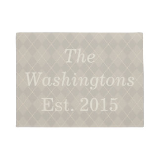 Personalized Custom Family Name Doormat