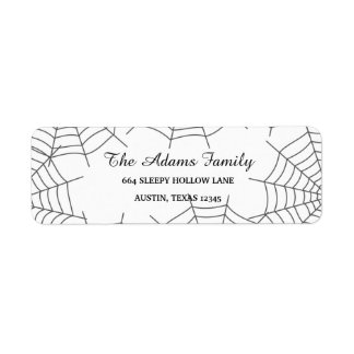 Personalized Custom Halloween Spiderweb