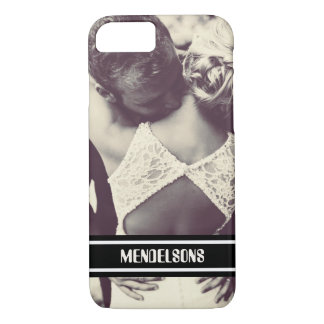 Personalized custom image and text iPhone 8/7 case