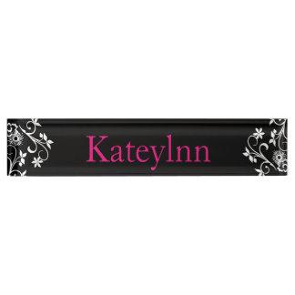 Personalized Custom Monogram Name Plate
