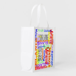 Personalized Custom Name Collage Colorful