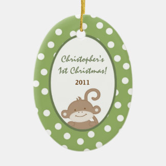 Personalized Custom Ornament Safari Adventure