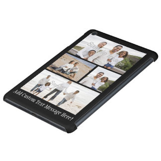 Personalized Custom Photo Collage Montage iPad Mini Retina Covers