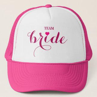 Personalized Customize Team Bride Trucker Hat