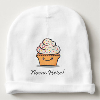 Personalized Cute Cupcake Baby Hat Baby Beanie