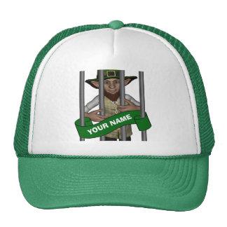 personalized cute leprechaun St Patrick s day Hat