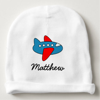 Personalized cute toy airplane baby hat for boy baby beanie