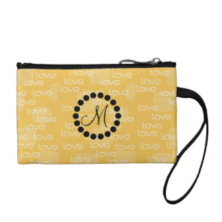 Personalized  Cute Yellow Love Bag