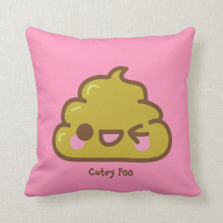 Personalized Cutey Poo Cushion