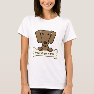 Personalized Dachshund T-Shirt