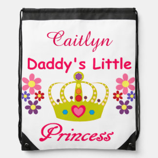 Personalized Daddy's Little Princess Backpack