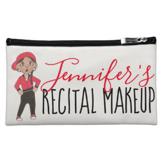 Personalized Dance Recital Makeup Hip Hop Teacher Makeup Bag