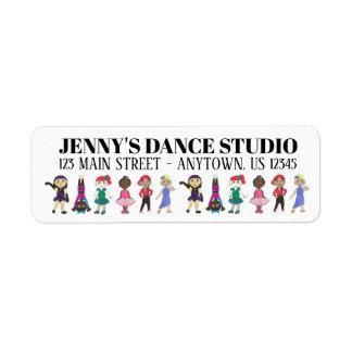Personalized Dance School Studio Teacher Jazz Tap