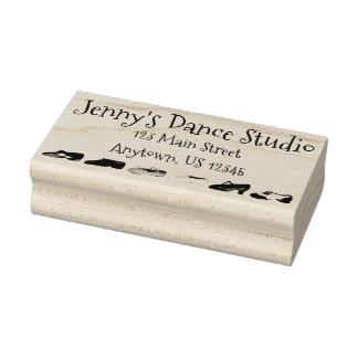 Personalized Dance Studio Teacher Ballet Tap Jazz Rubber Stamp