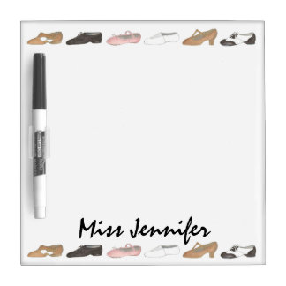 Personalized Dance Studio Teacher Dry Erase Board