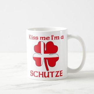 Personalized Danish Kiss Me I m Schutze Mugs