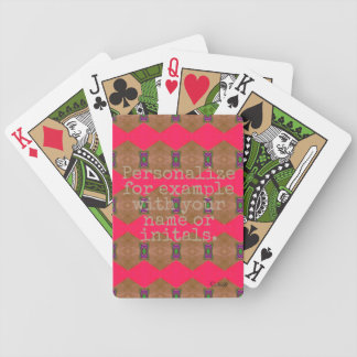 Personalized Deck of Cards #12