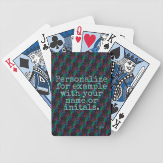 Personalized Deck of Cards #18