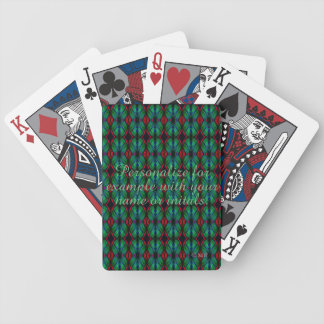 Personalized Deck of Cards #24