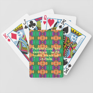 Personalized Deck of Cards #3