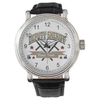 Personalized Deputy Sheriff Watches