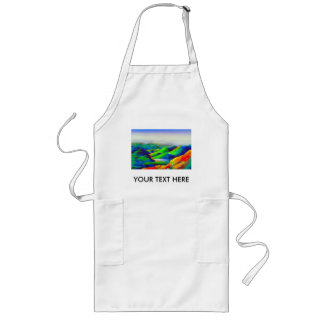PERSONALIZED DESIGNS LONG APRON