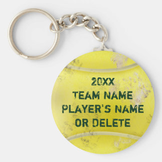 Personalized Dirty Old Tennis Ball Keychains CHEAP