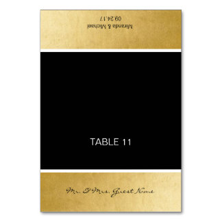 Personalized DIY Wedding Name Table Place Cards