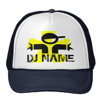 Personalized DJ hat with custom name