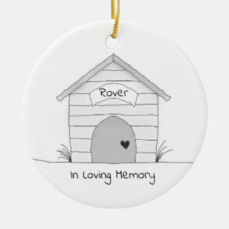 Personalized Dog Pet Memorial Ornament